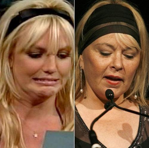 Бритни Спирс и Розана Барр – обе отъявленные скандалистки... Правда, Розанна, в отличие от Бритни, заслуженная скандалистка...